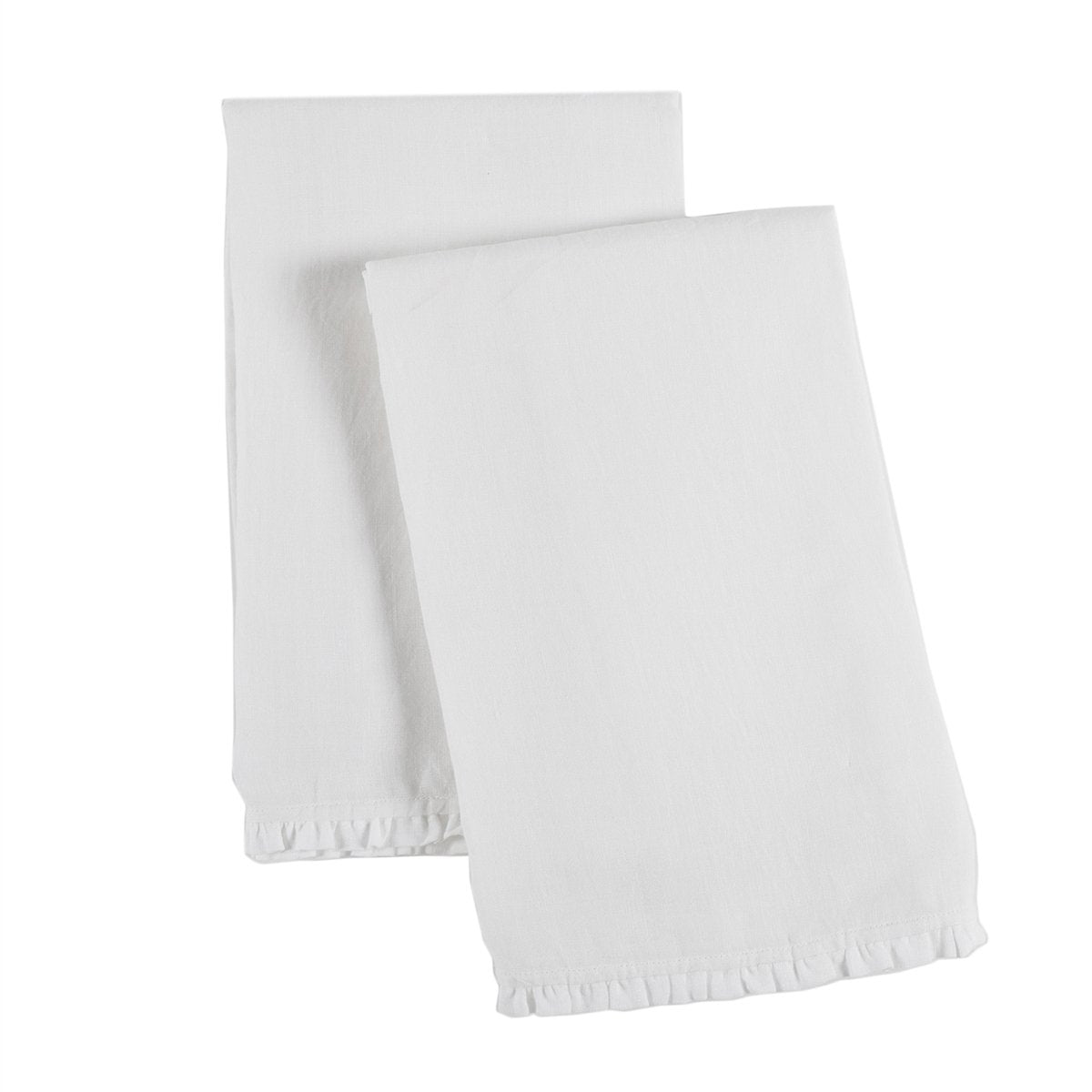 Charlie Pillowcase by Pom Pom at Home-Bed & Bath-Pom Pom-Standard-White-A Cottage in the City