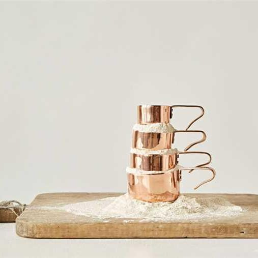 Copper Measuring Cups-Tabletop-A Cottage in the City