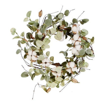 Cotton & Eucalyptus Candle Ring 15