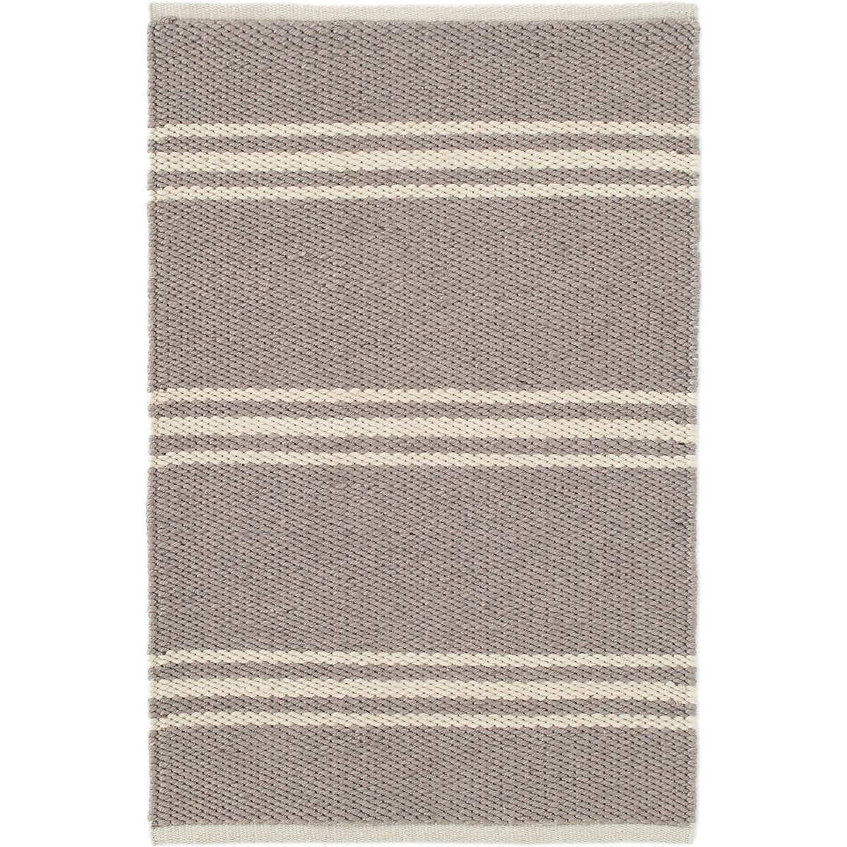 Dash & Albert Lexington Indoor/Outdoor Rug-Decor-3' x 5'-Grey/Ivory-A Cottage in the City