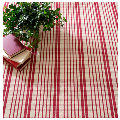 Dash & Albert Guilford Red Woven Cotton Rug-Decor-Dash & Albert-Swatch-A Cottage in the City