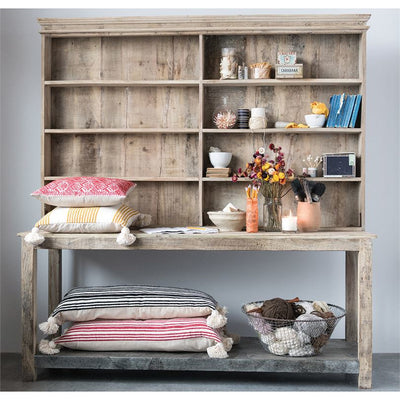 Reclaimed Wood & Metal Hutch