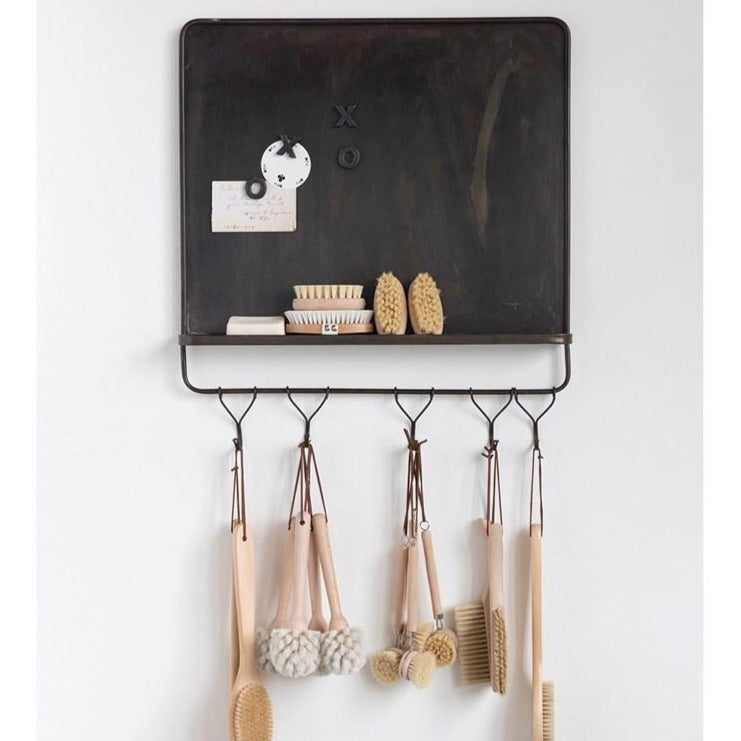 Magnetic Wall Shelf With Hooks-Decor-A Cottage in the City