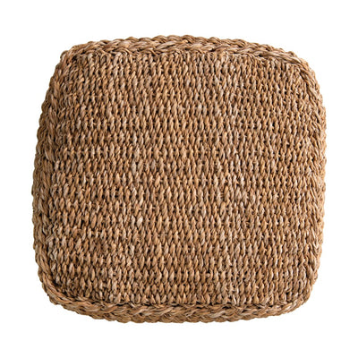 Hand Woven Seagrass Pouf-Decor-A Cottage in the City