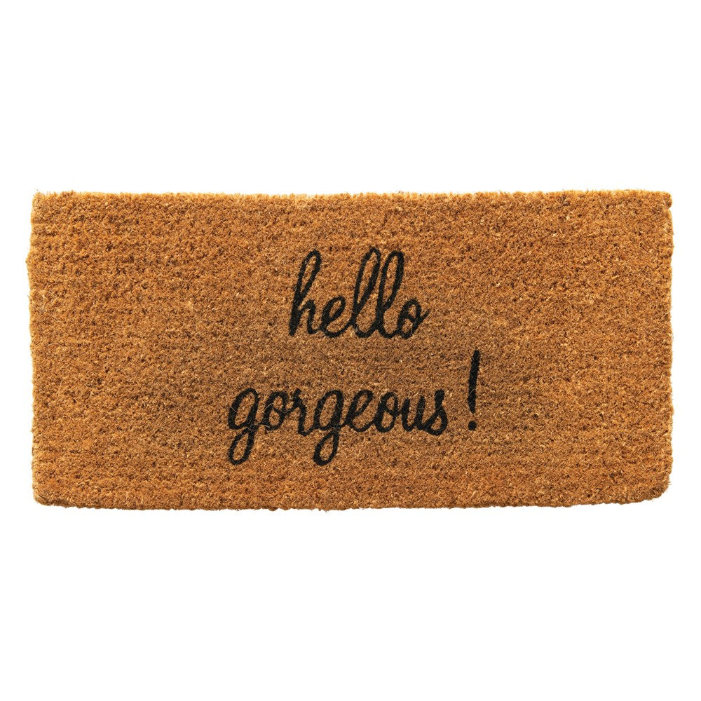 Hello Gorgeous Door Mat-Decor-A Cottage in the City