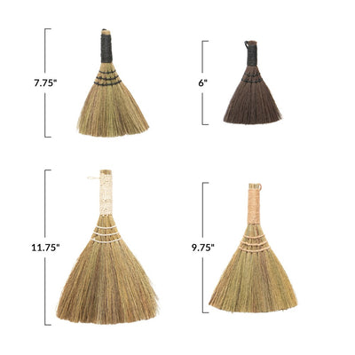 Yarn Wrapped Whisk Broom Set-Decor-A Cottage in the City