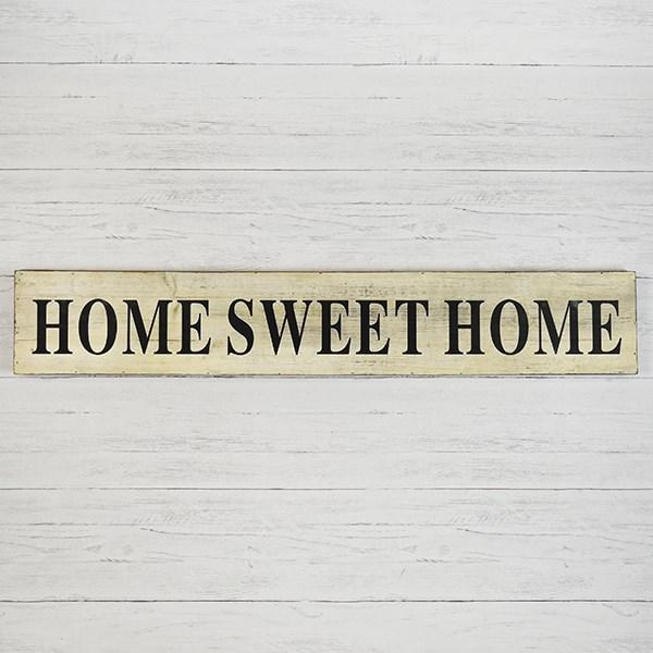 Distressed Wood Home Sweet Home Sign