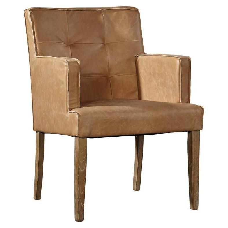 Elroy Leather Chair-Furniture-A Cottage in the City