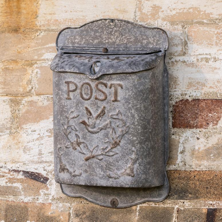 Embossed Post Mail Box-Storage-A Cottage in the City