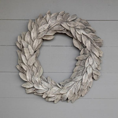 Estate Stone Bay Leaf Wreath