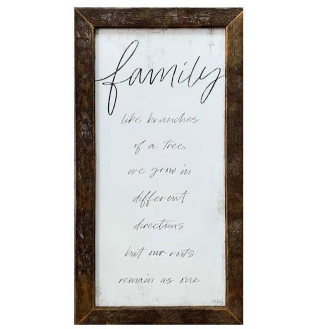 Family Rustic Framed Print-Decor-A Cottage in the City