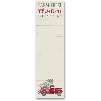 Farm Fresh Christmas Trees Notepad