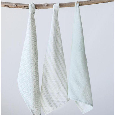 Farmhouse Green Dishtowel Set