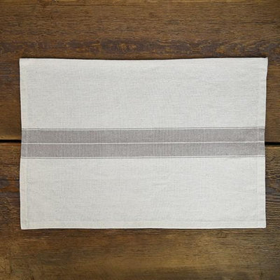 Farmhouse Stripe Cream Placemat