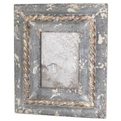 Framed Antiqued  Mirror