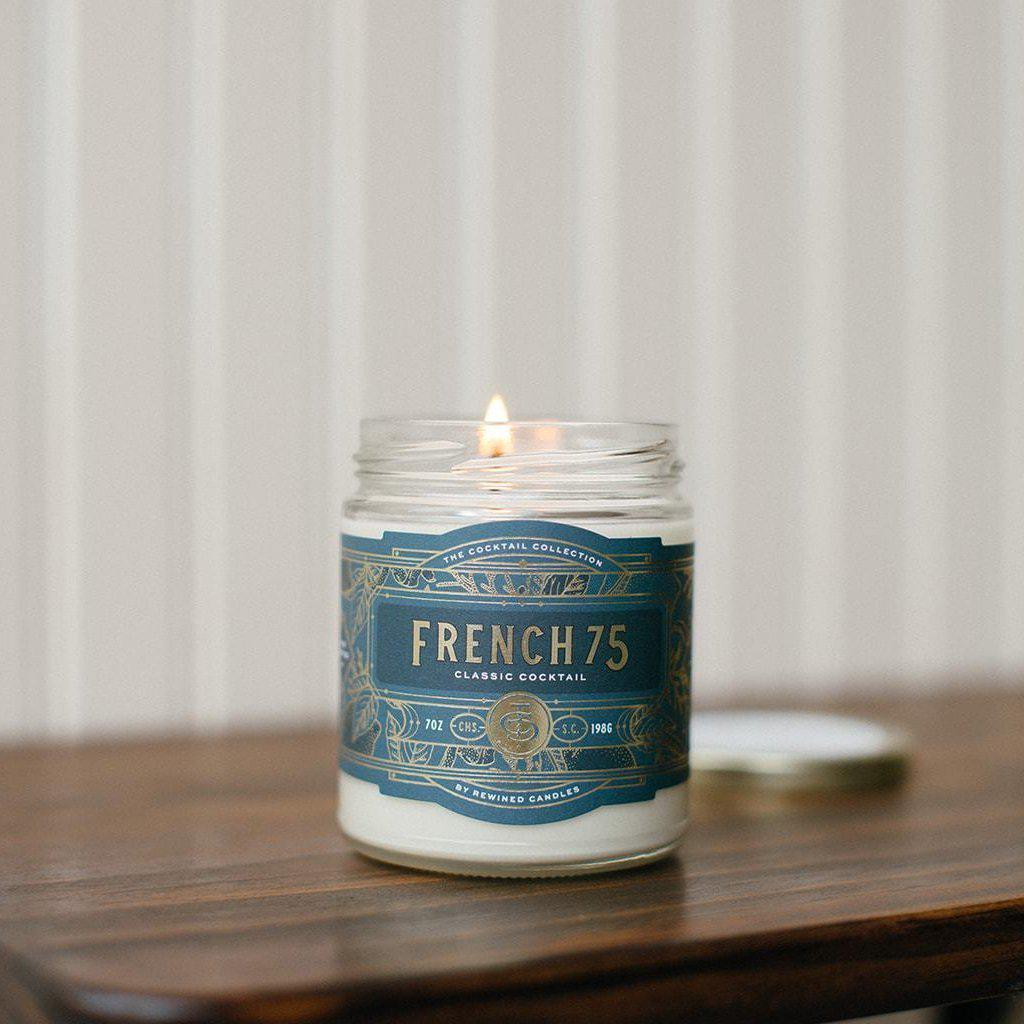 French 75 Candle-Decor-Rewined-A Cottage in the City