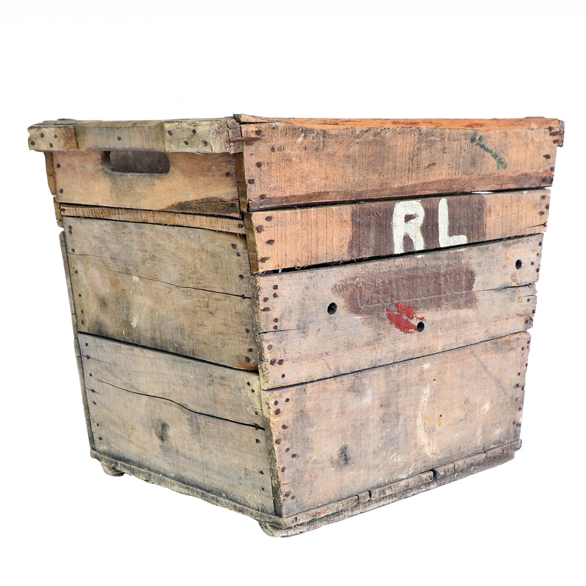 Vintage Tapered Champagne Crate-Storage-A Cottage in the City
