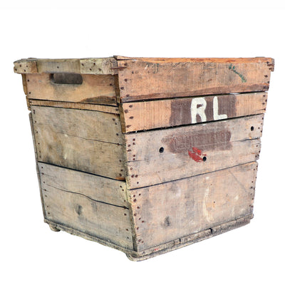 Vintage Tapered Champagne Crate