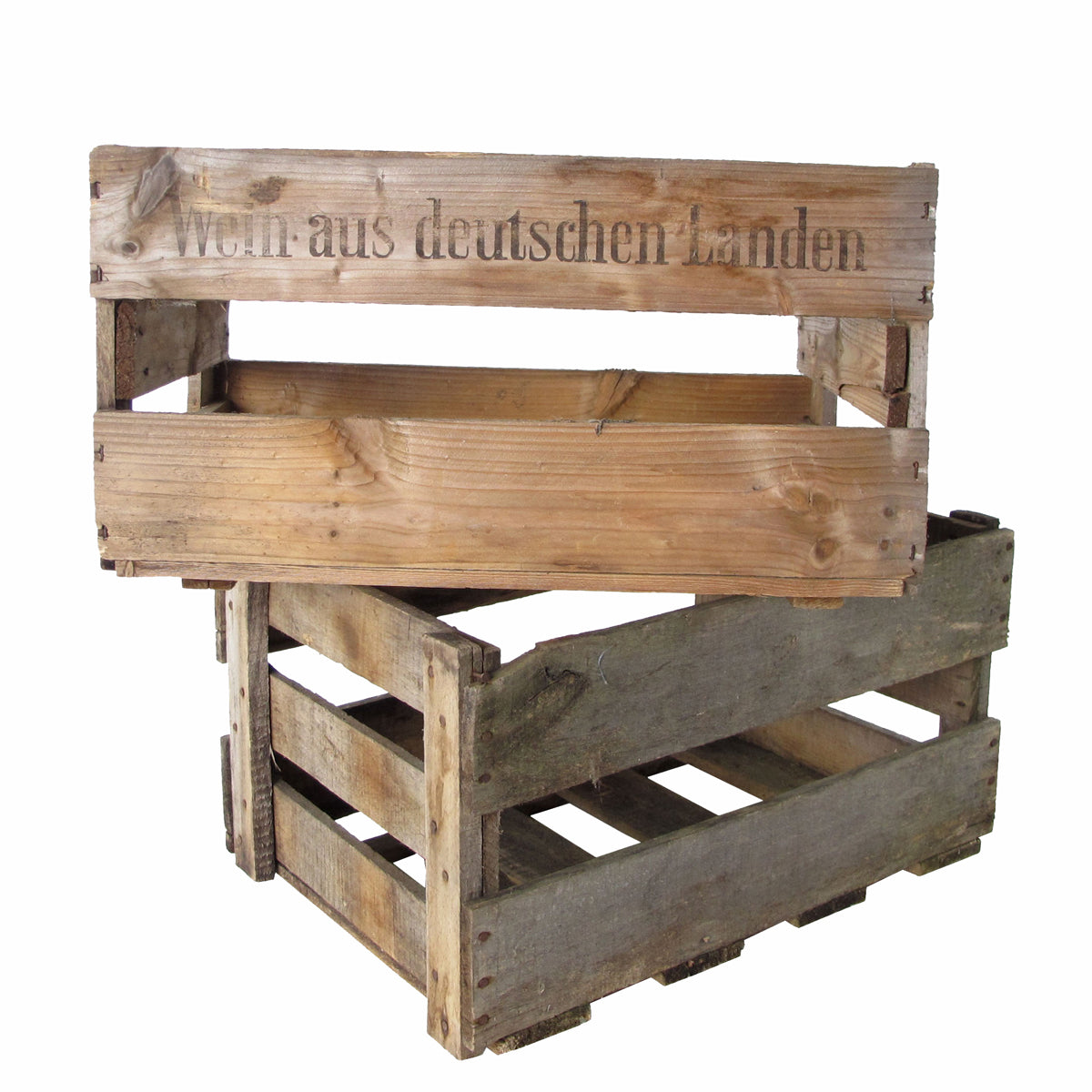 German Wine Crate-Storage-A Cottage in the City