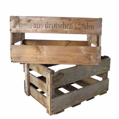German Wine Crate