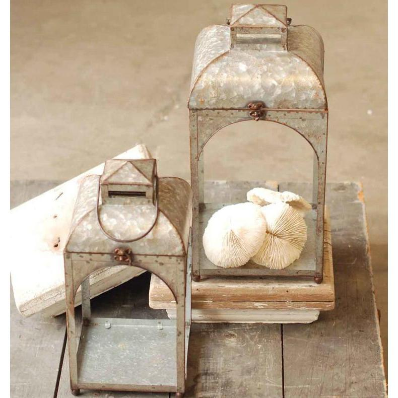 Galvanized Metal Lantern-Decor-Large-A Cottage in the City