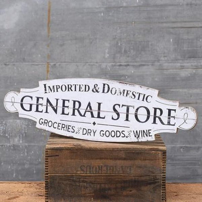 General Store Wood Sign