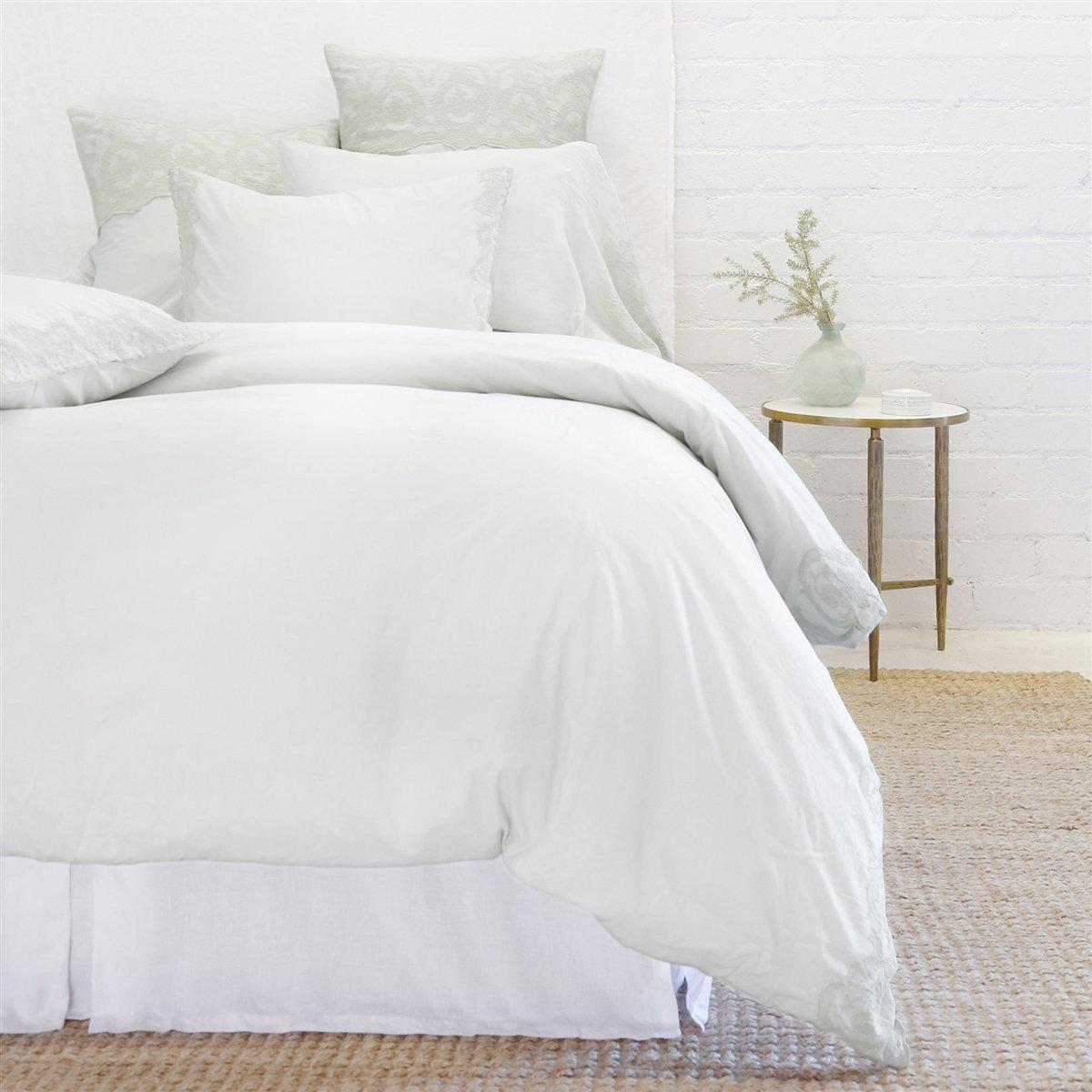 Grace Euro Sham by Pom Pom at Home-Bed & Bath-Powder Blue-A Cottage in the City