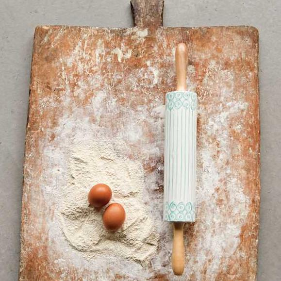 Hand Painted Rolling Pin-Tabletop-A Cottage in the City