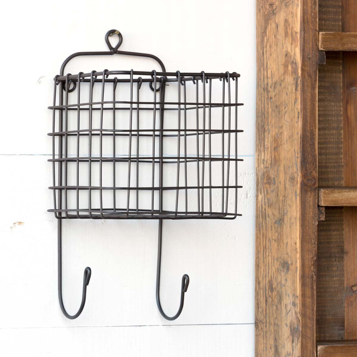 Hanging Wire Wall Caddy-Bed & Bath-A Cottage in the City