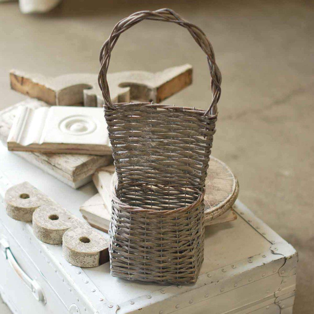 Hellen Wall Basket-Seasonal-Vintage Floral Imports-A Cottage in the City