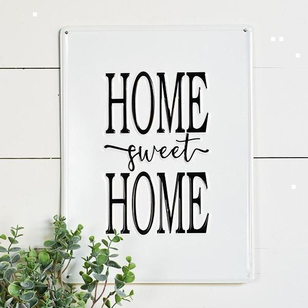 Home Sweet Home Metal Sign-Decor-A Cottage in the City