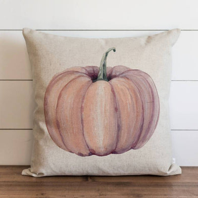 Orange Pumpkin Pillow Cover