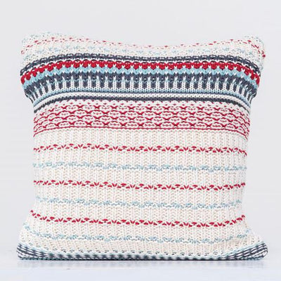 Knit Striped Pillow