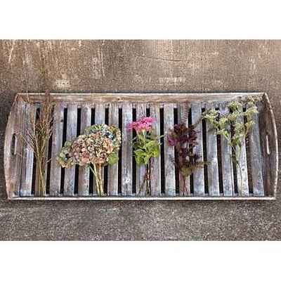 Large Reclaimed Wood Slat Tray-Seasonal-A Cottage in the City