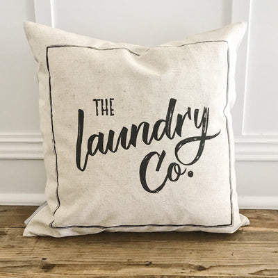 Laundry Co Linen Pillow