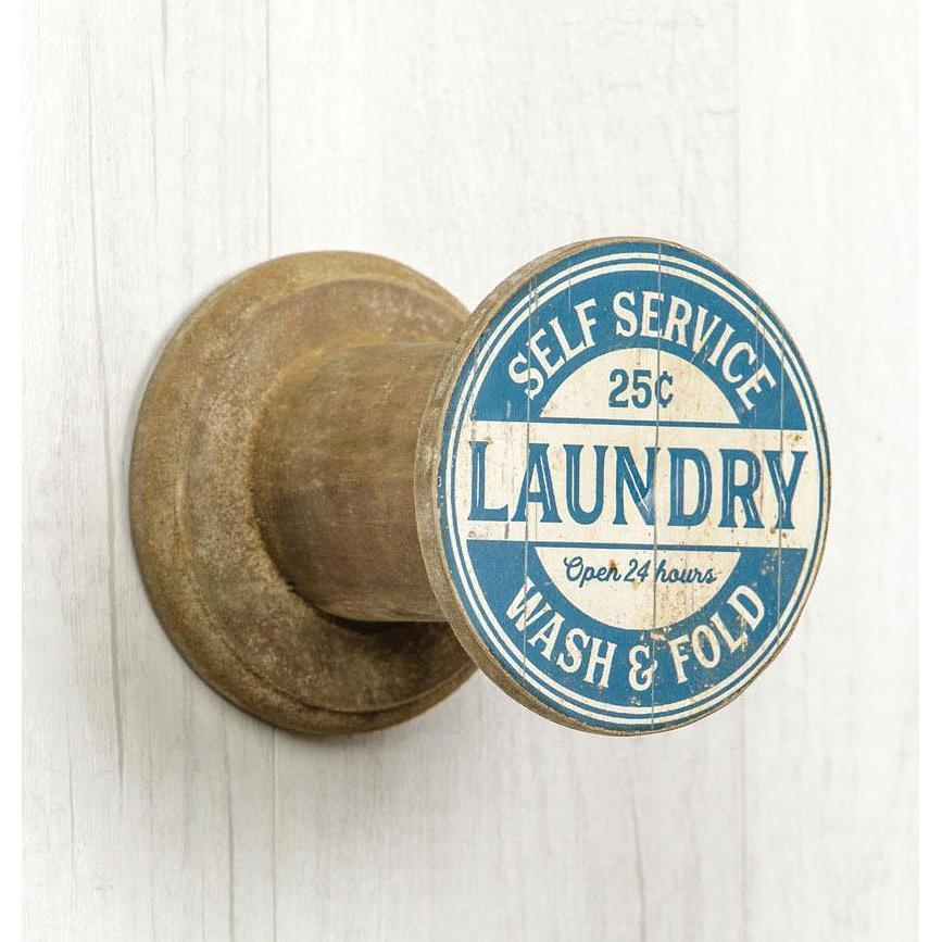 Laundry Spool Hook-Decor-A Cottage in the City