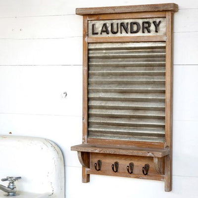 Laundry Wash Board Shelf