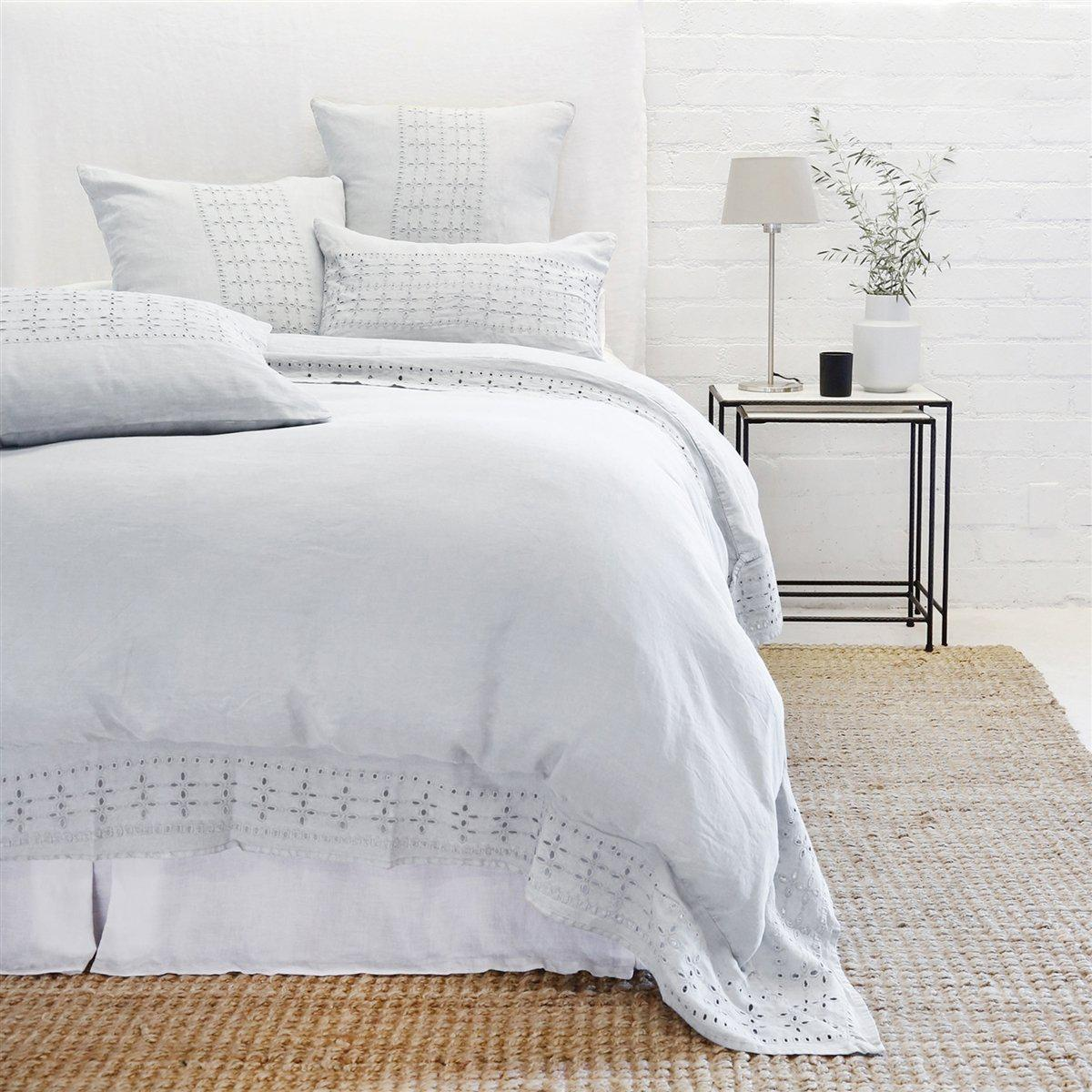 Layla Sham by Pom Pom at Home-Bed & Bath-Standard-Ocean-A Cottage in the City