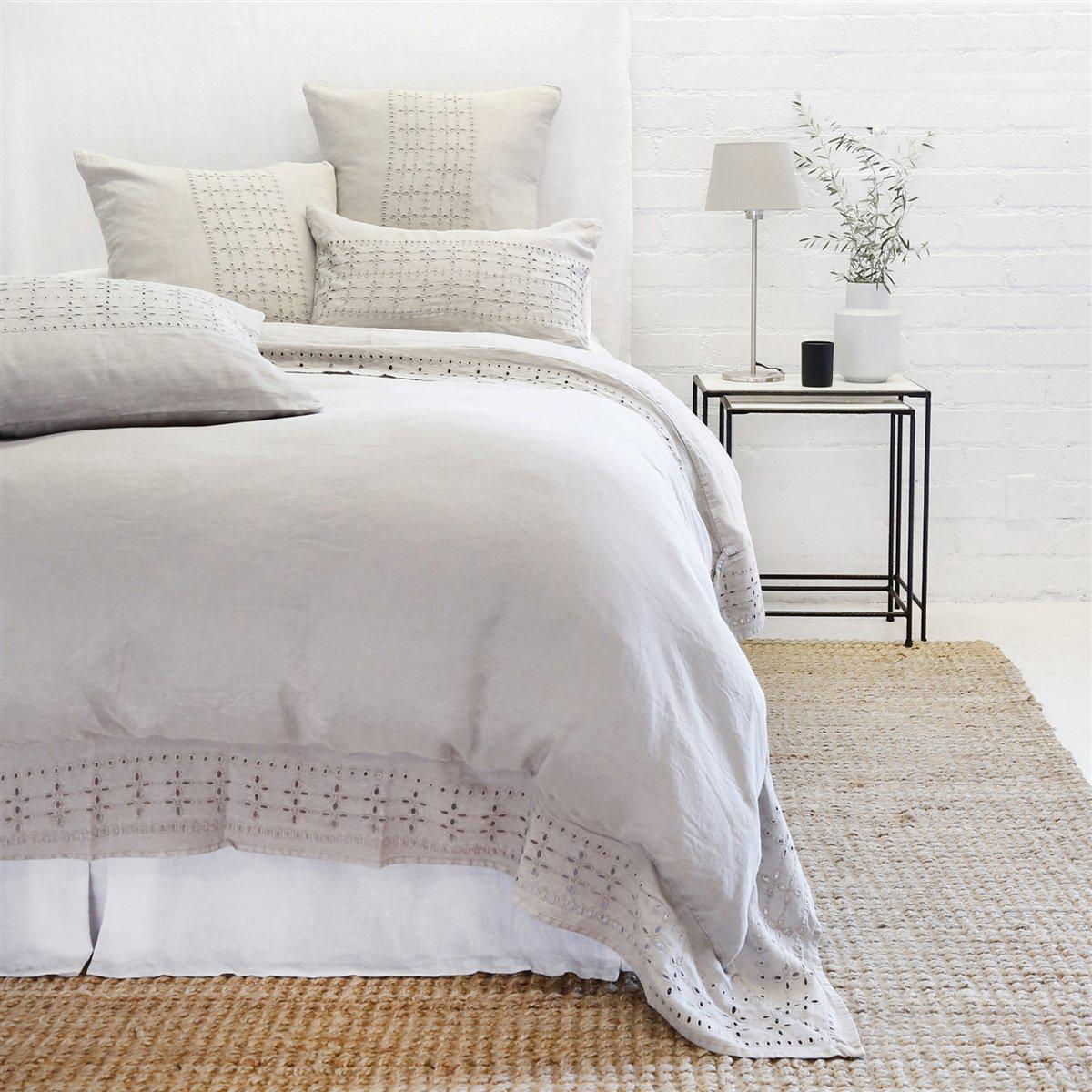Layla Sham by Pom Pom at Home-Bed & Bath-Standard-Taupe-A Cottage in the City