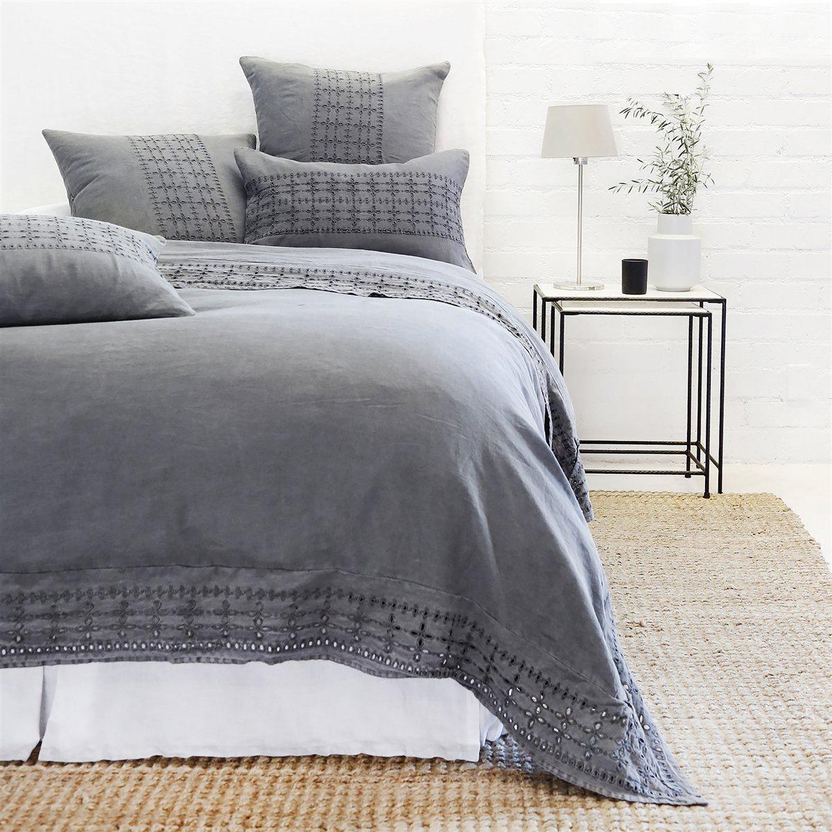 Layla Sham by Pom Pom at Home-Bed & Bath-Standard-Midnight-A Cottage in the City