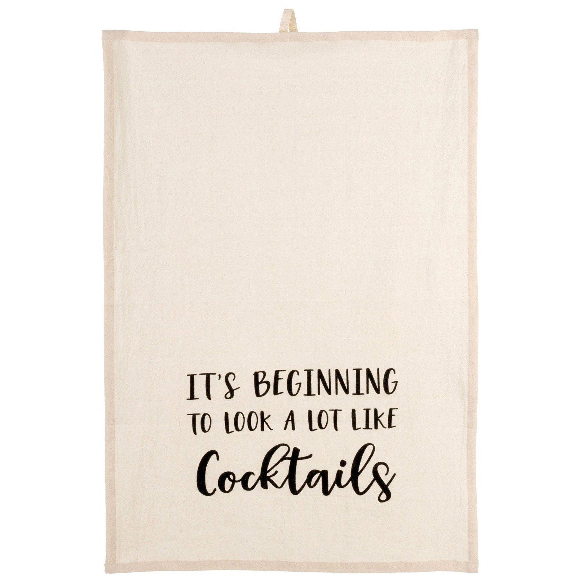 Looks Like Cocktails Dishtowel-Seasonal-A Cottage in the City