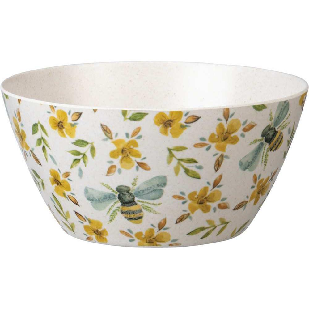 Melamine Bees Bowl-Tabletop-A Cottage in the City