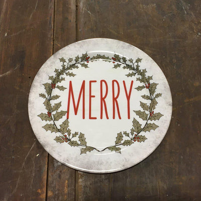 Merry Holly Plate