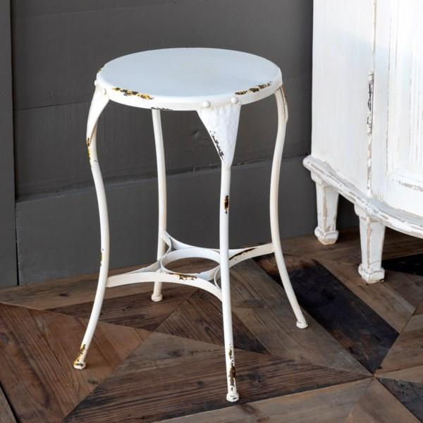 Metal Milk Parlor Stool-Decor-Park Hill Collection-A Cottage in the City