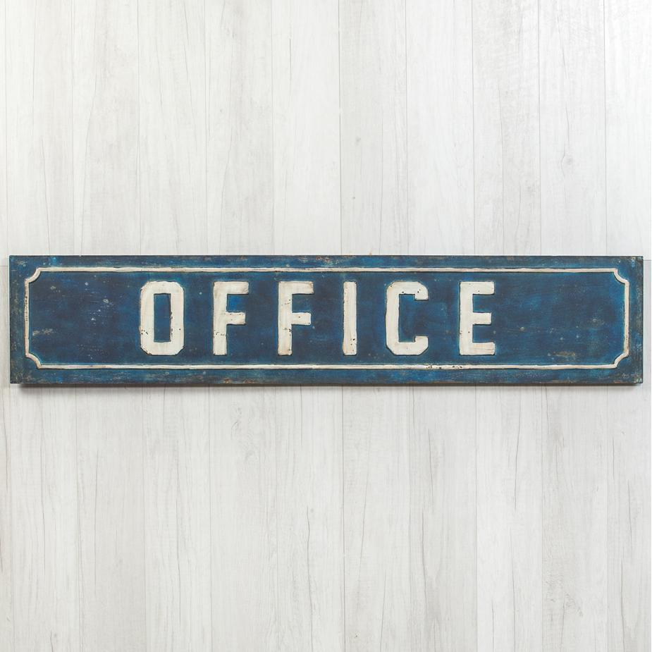 Metal Office Sign-Decor-A Cottage in the City