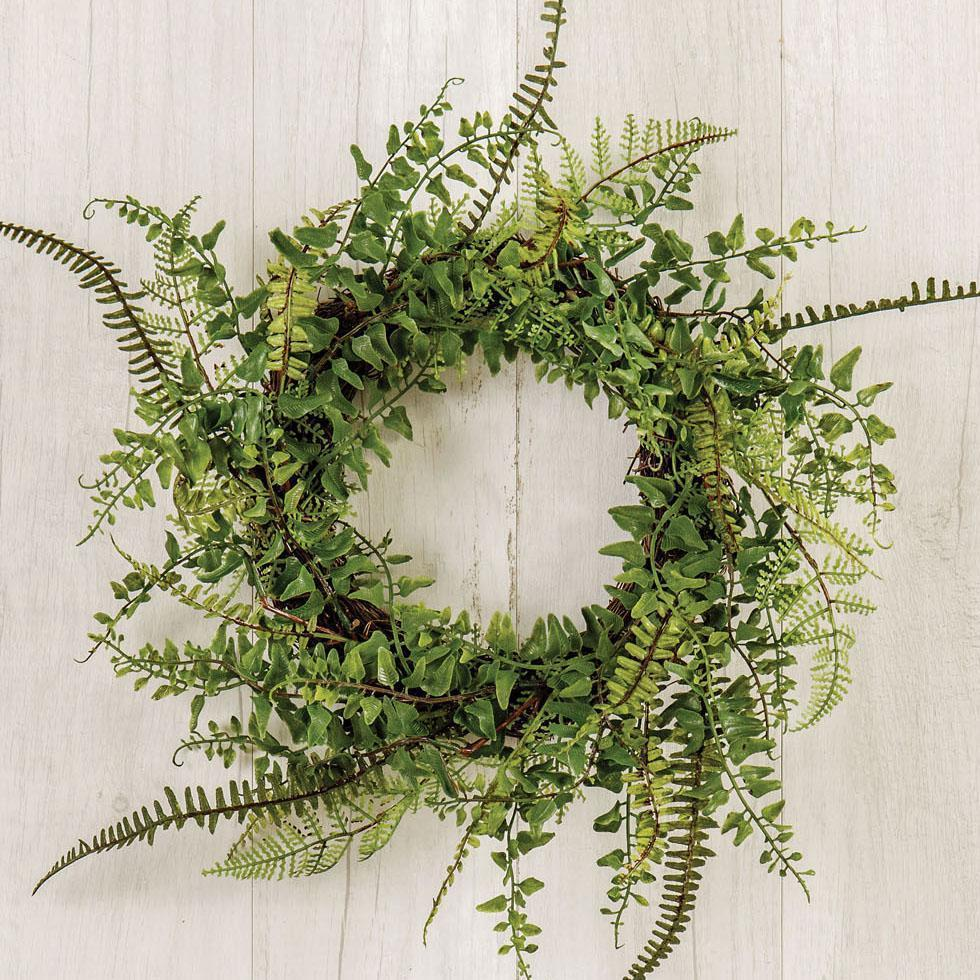 Mini Fern Wreath-Seasonal-A Cottage in the City