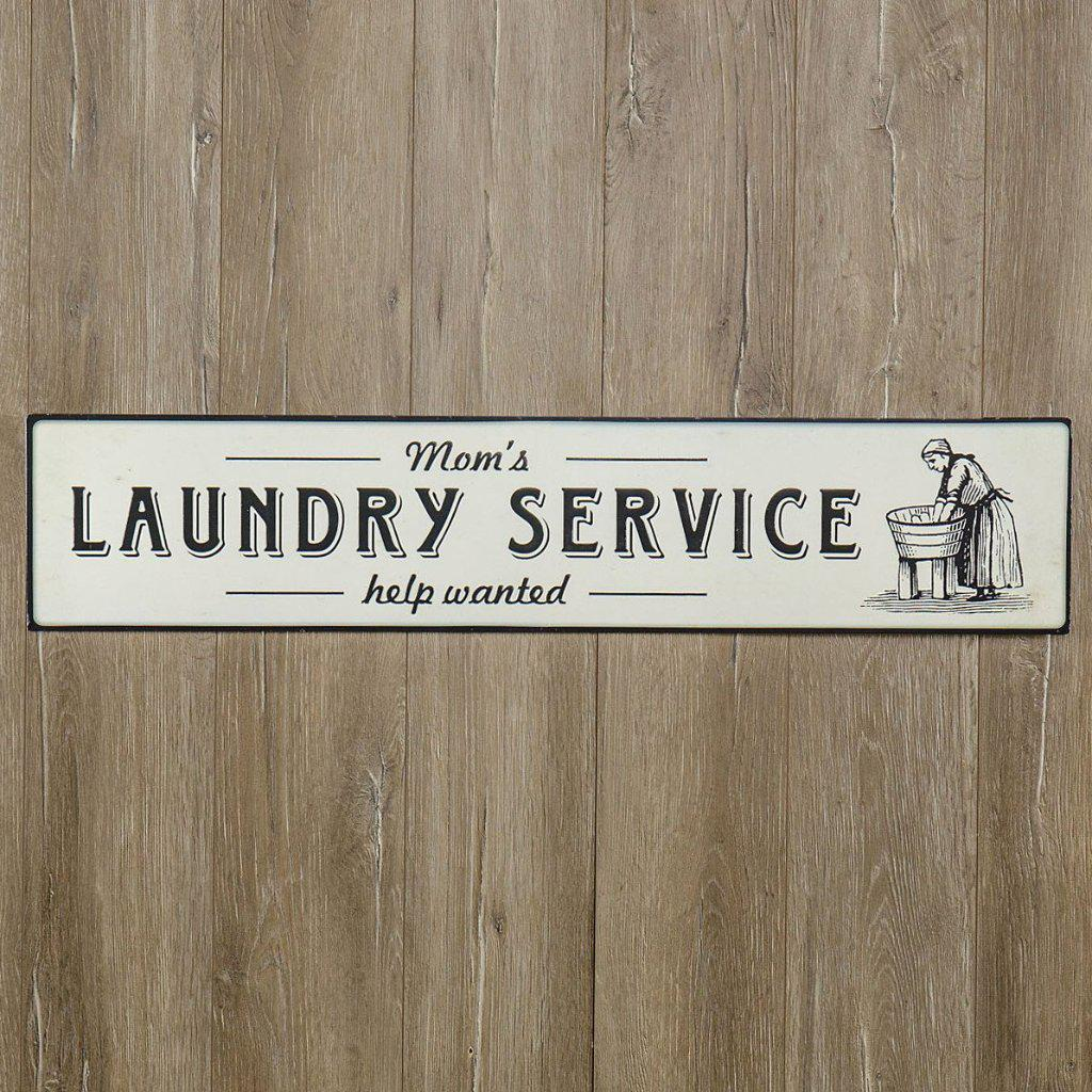 Mom's Laundry Service Sign-Decor-Ragon House-A Cottage in the City