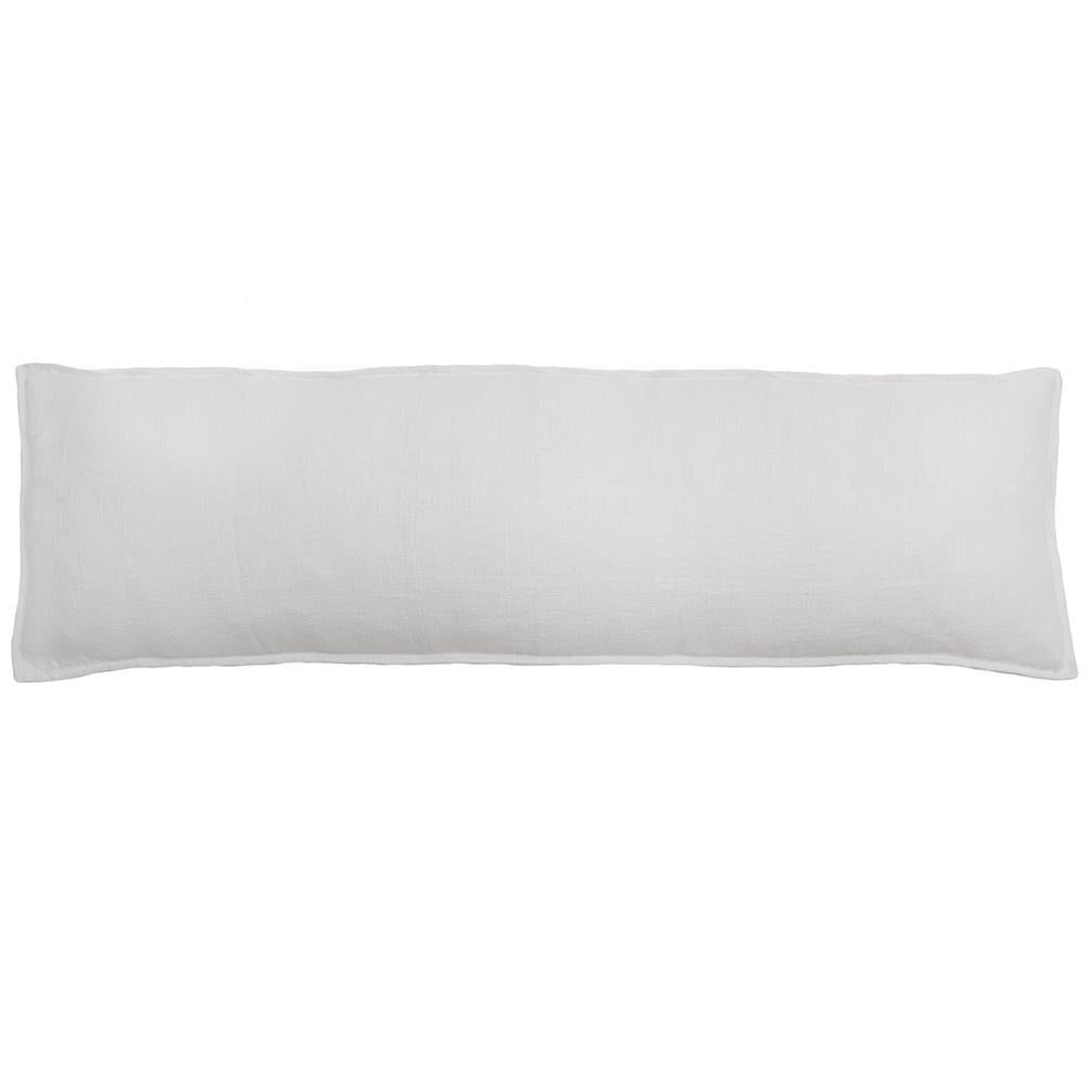 Montauk Body Pillow by Pom Pom at Home-Bed & Bath-Pom Pom-Pure White-A Cottage in the City