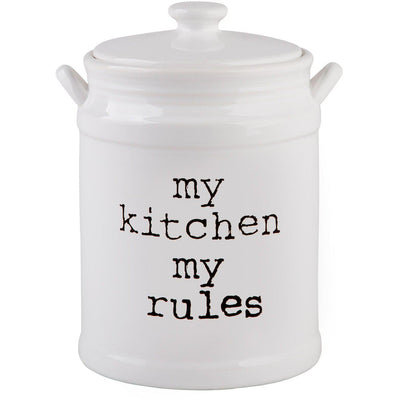 My Kitchen My Rules Canister