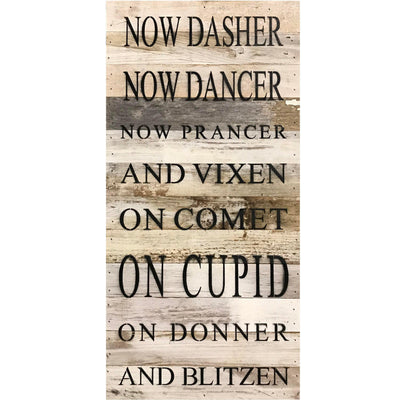 Now Dasher Reclaimed Wood Sign